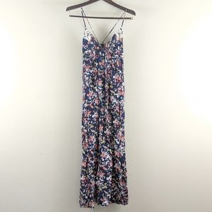 Strappy, Floral and Lace Maxi sundress